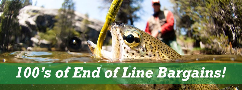 End of Line, Clearance Fishing Tackle