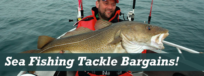 Sea Fishing Tackle Bargains