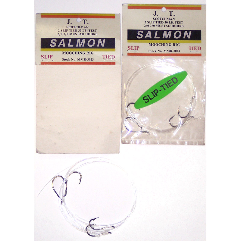 Salmon mooching rig one pound fishing tackle for Salmon fishing rigs