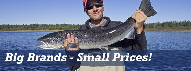 Big Brand Fishing Tackle - Small Prices